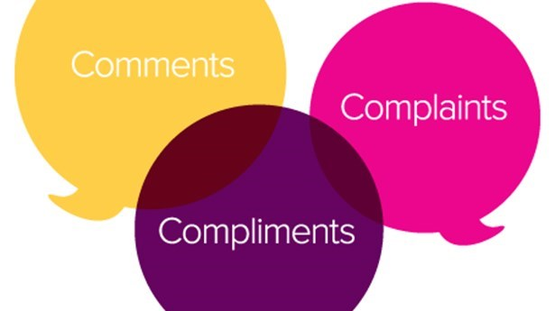 Complaints, Compliments and Comments