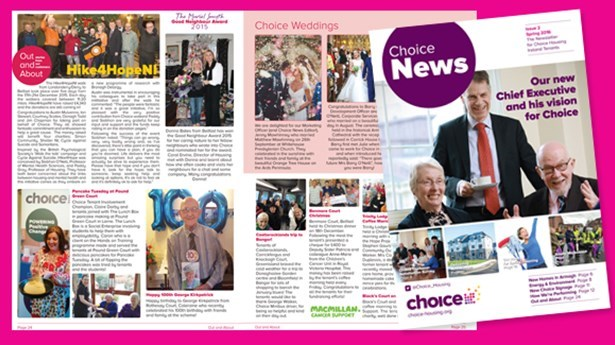 Choice News Spring 2016 is out now!