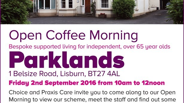 Coffee Morning at Parklands