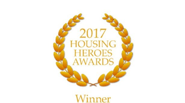 President Recognised at Housing Heroes Awards
