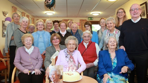 100th Birthday at St. Bronagh's