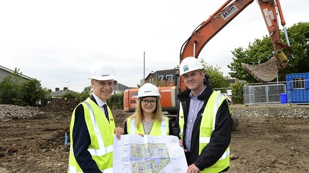 Choice starts construction on £1.7m Newtownabbey scheme