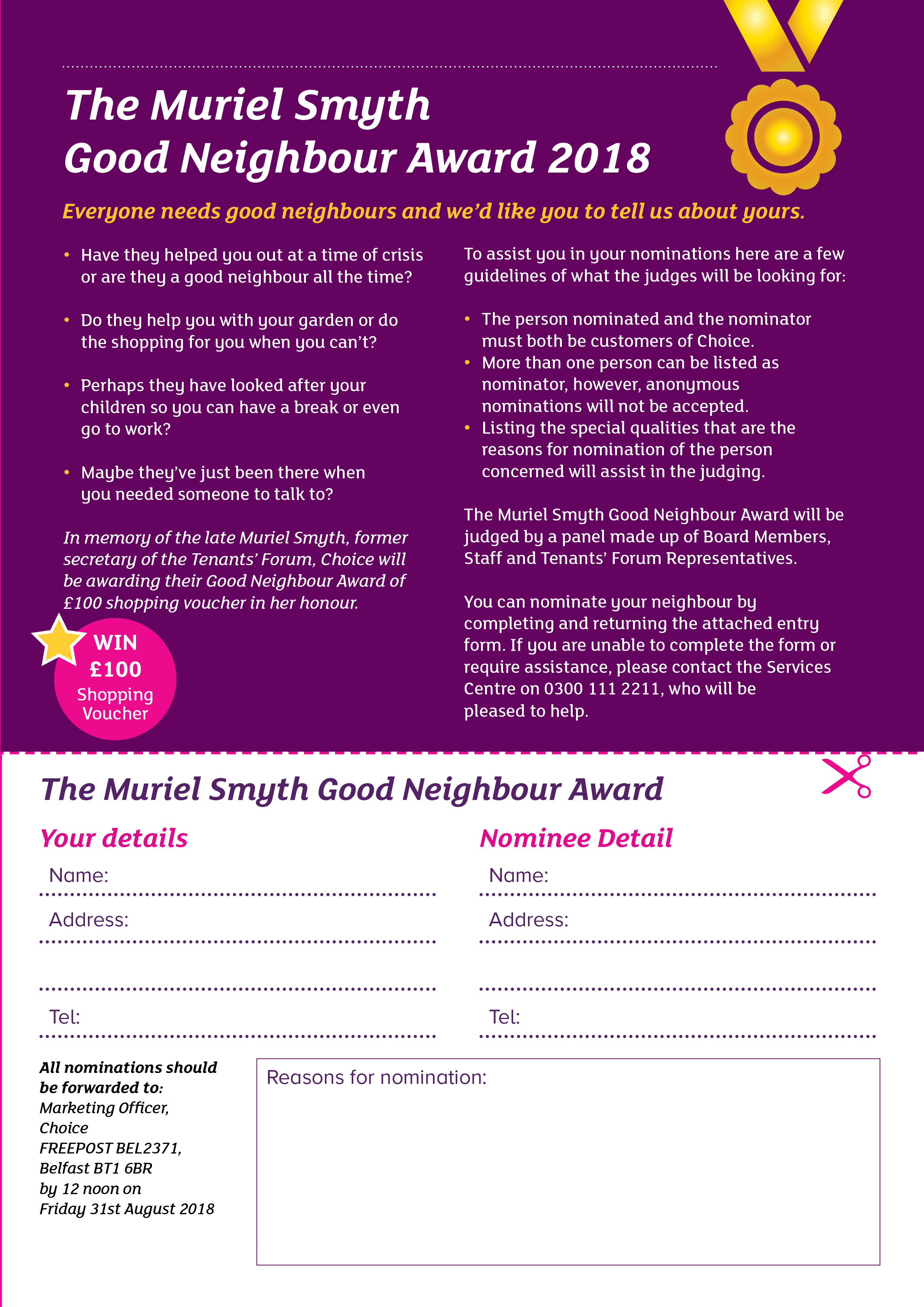 Good Neighbour Award