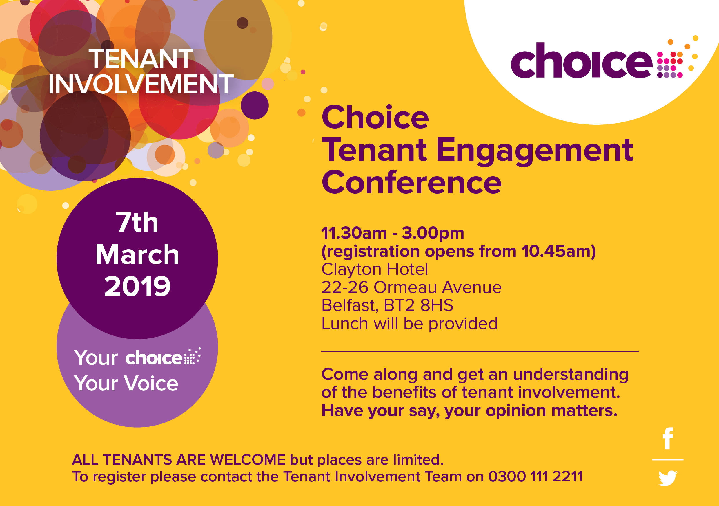Choice Tenant Engagement Conference