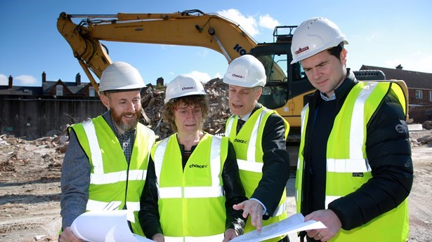 Work begins at Choice's new Woodstock Road Site