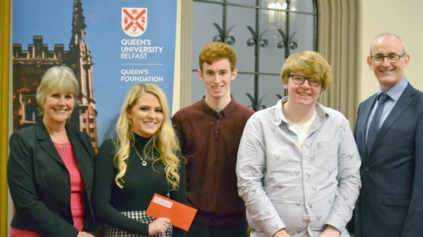 We are proud to support Widening Participation At Queen's